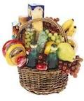 Fruit, Cheese & Gourmet Basket